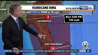 Category 5 Irma's winds remain at 185 mph, Hurricane Jose forms - Video