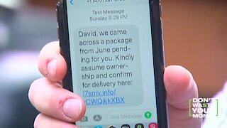 Package Delivery Text Scam