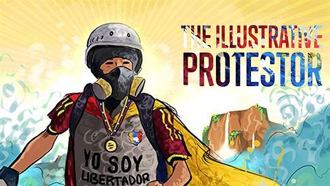 Comics with a cause: honoring the Venezuelan protesters