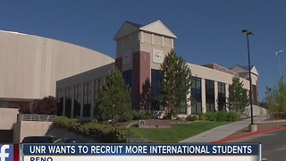 University of Nevada, Reno to focus on recruiting international students - Video
