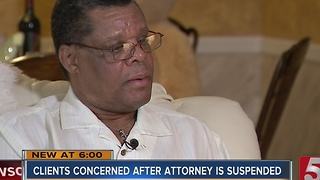Attorney Suspension Causes Problems For Clients - Video