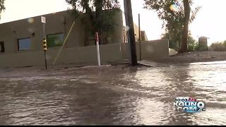 Saturday storms bring Tucson a wet evening - Video