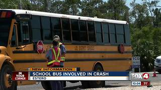 Woman dead after driving into the path of a school bus