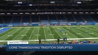 Detroit Lions Thanksgiving tradition interrupted with COVID-19