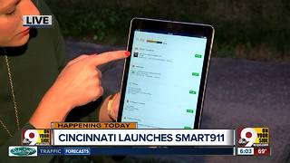 Cincinnati to launch Smart911 system today - Video