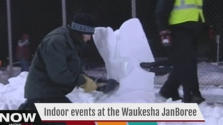No snow? No problem at the Waukesha JanBoree - Video