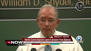 How Martin County deputies caught escaped Alabama inmate