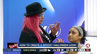 How to create a spooky Halloween look using makeup