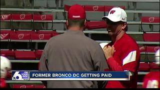 Former Bronco DC Justin Wilcox getting some extra cash - Video