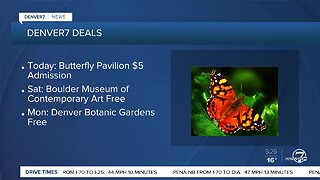 Butterfly Pavilion offering $5 admission today