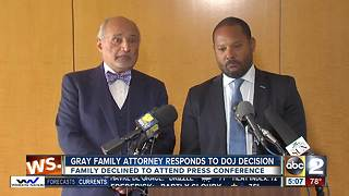 Attorney responds to DOJ not charging officers accused in death of Freddie Gray - Video