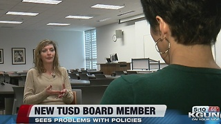 New TUSD board member calls policies a mess - Video