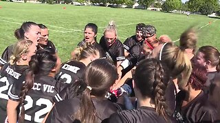 Women bring it every Sunday on the gridiron in a new flag football league