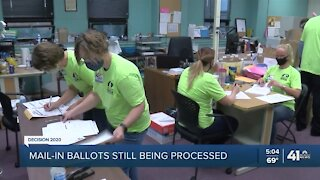 Mail-in ballots still being processed