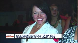Family, detectives still looking for clues in murder of Ally Brueger - Video