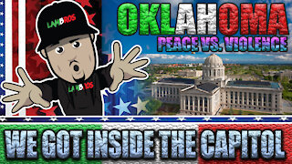 THEY INVITED US INSIDE THE CAPITAL DURING A PROTEST ! (PEACE BEATS VIOLENCE) | LAMBROS