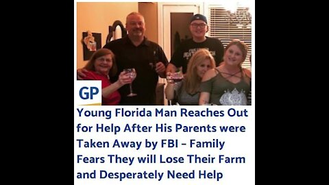 Young Florida Man Reaches Out for Help After His Parents were Taken Away by FBI