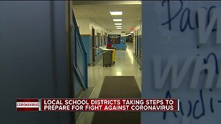 Local school districts taking steps to prepare for fight against coronavirus