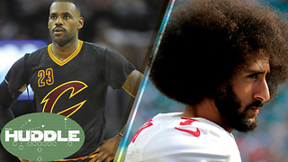 LeBron James DONE in Cleveland for Good? Colin Kaepernick FIRES BACK at Michael Vick -The Huddle - Video