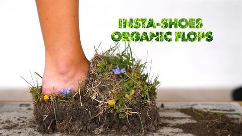 Behind the INSTA-shoe photographer: DIY Grass sandals