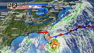 Hurricane Irma's Forecast and Maryland - Video