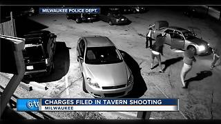 Two charged in tavern shooting - Video