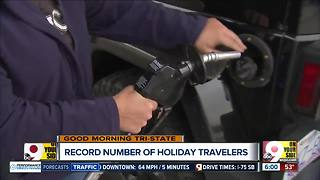 Record number of holiday travelers to hit the roads - Video