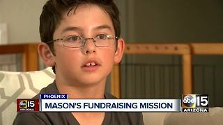 Phoenix boy starts fundraiser after losing brother to heart disease - Video