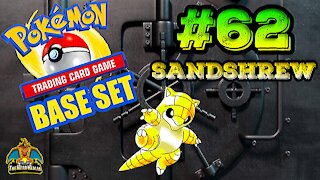 Pokemon Base Set #62 Sandshrew | Card Vault