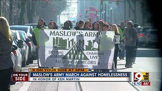 Maslow's Army holds march to end homelessness and poverty - Video