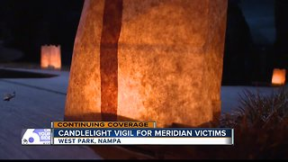 Candlelight vigil held for victims of Meridian shooting