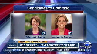 2020 Presidential campaign comes to Colorado