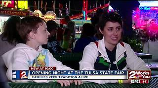 Thursday marks opening night at the Tulsa State Fair - Video