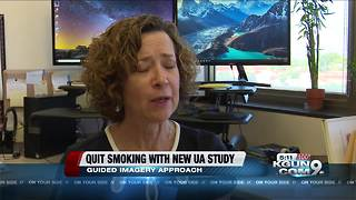 UA professor studying how to quit smoking by using guided imagery