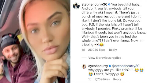 Steph Curry Defends Wife Ayesha From Trolls Who Keep Trash Talking Her New Look