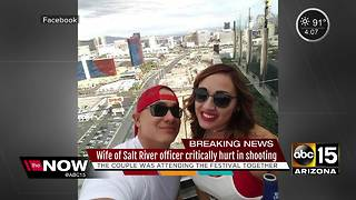 Arizona officers injured during Las Vegas mass shooting - Video