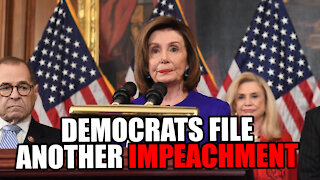 Democrats Release Articles of Impeachment Against Trump for Challenging Fraud and the US Capitol