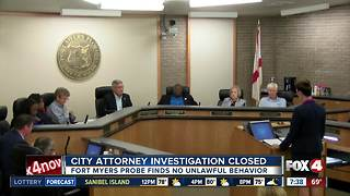 Fort Myers attorney investigation closed - Video