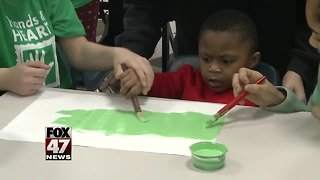 Art projects bring students together