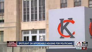 Spotlight on affordable housing for politicians - Video
