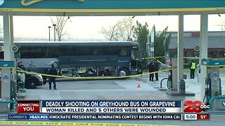 One dead, 5 injured in greyhound bus shooting in Kern County