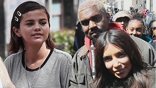 Kim Kardashian & Selena Gomez Join 'March For Our Lives': Which Other Celebs Were There? - Video