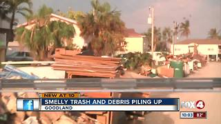 Trash, debris linger in Goodland - Video