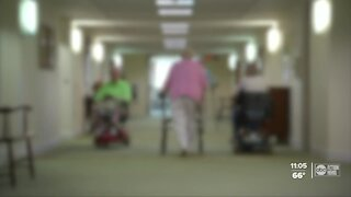 Questions over long-term care facility visits