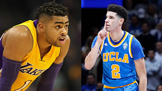 D'Angelo Russell Does NOT Want Lonzo Ball on the Lakers - Video
