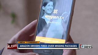 Amazon Flex driver fired over missing packages - Video