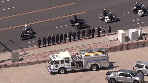 Arvada Fire Lt. Jim Schaefer honored at memorial, procession