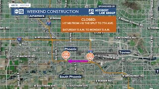 Weekend construction projects in the Valley this weekend