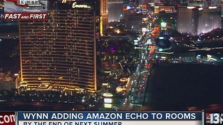 Wynn Resorts adding Amazon Echo to rooms - Video