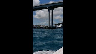 Beautiful views from Nassau Bahamas waterside
